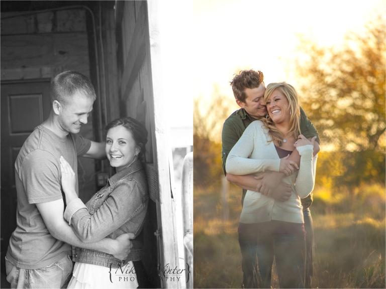 Engagement photo Nikki Winter