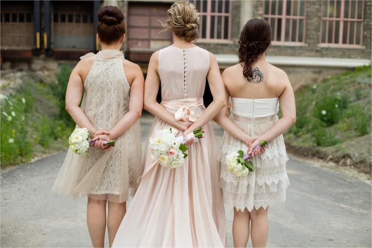 Milwaukee bridesmaid photo