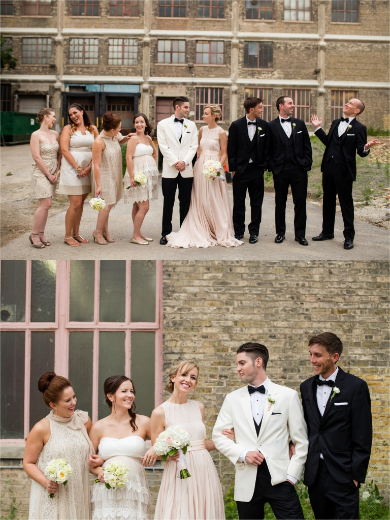 Bridal party in Milwaukee Photo