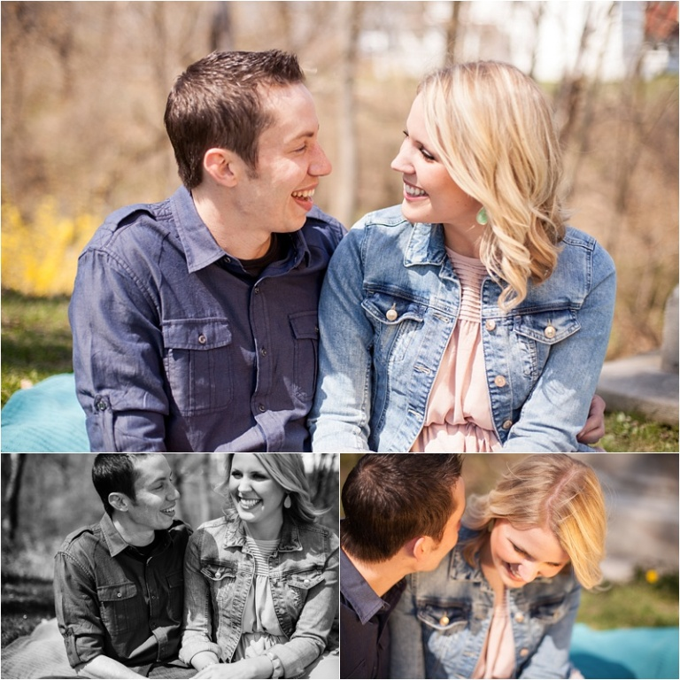 Lake front Engagement session