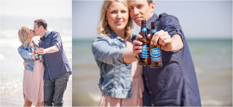 Bud Light engagement session Nikki Winter