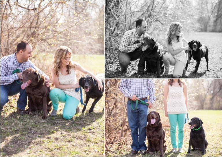 grant park and dogs engagement session nikki winter photo