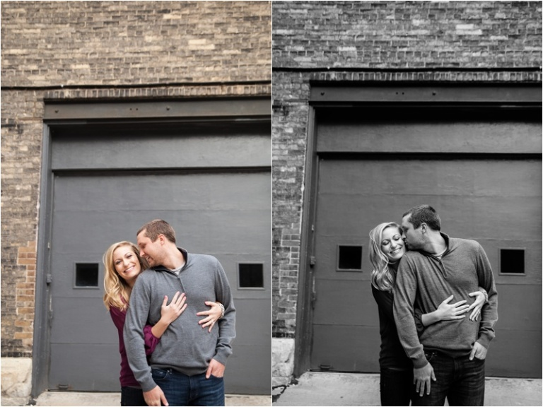 Milwaukee Third ward engagement session Wisconsin Photographers D+J_0022