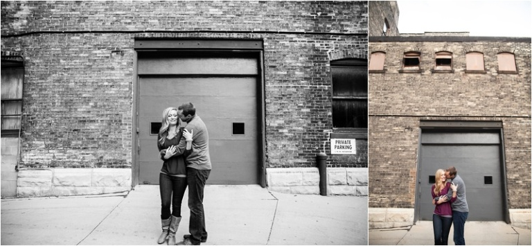Milwaukee Third ward engagement session Wisconsin Photographers D+J_0024