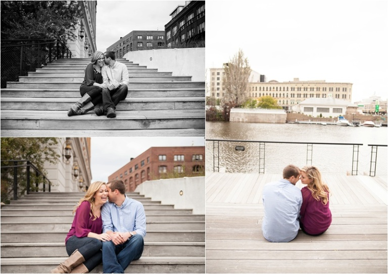 Milwaukee Third ward engagement session Wisconsin Photographers D+J_0032