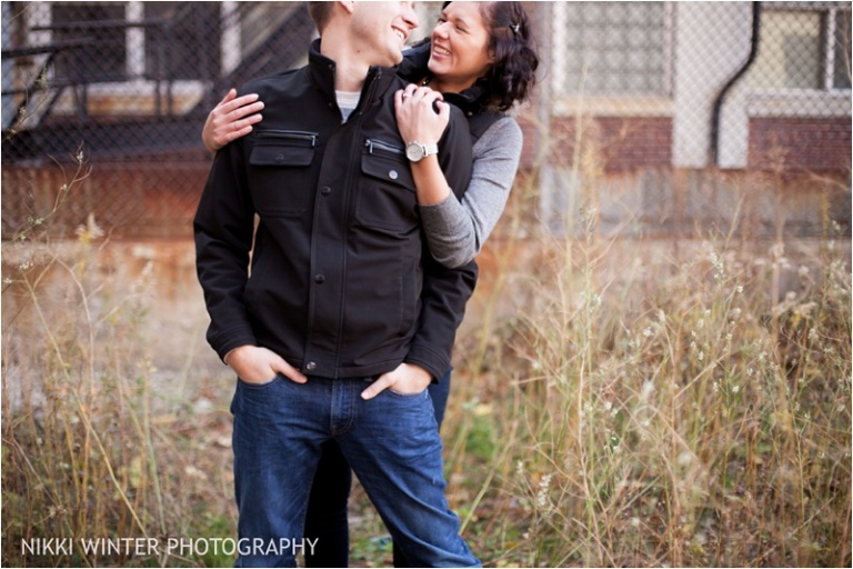 Milwaukee Pabst Brewery Engagement Session-16